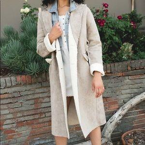 Fully Reversible Long Coat